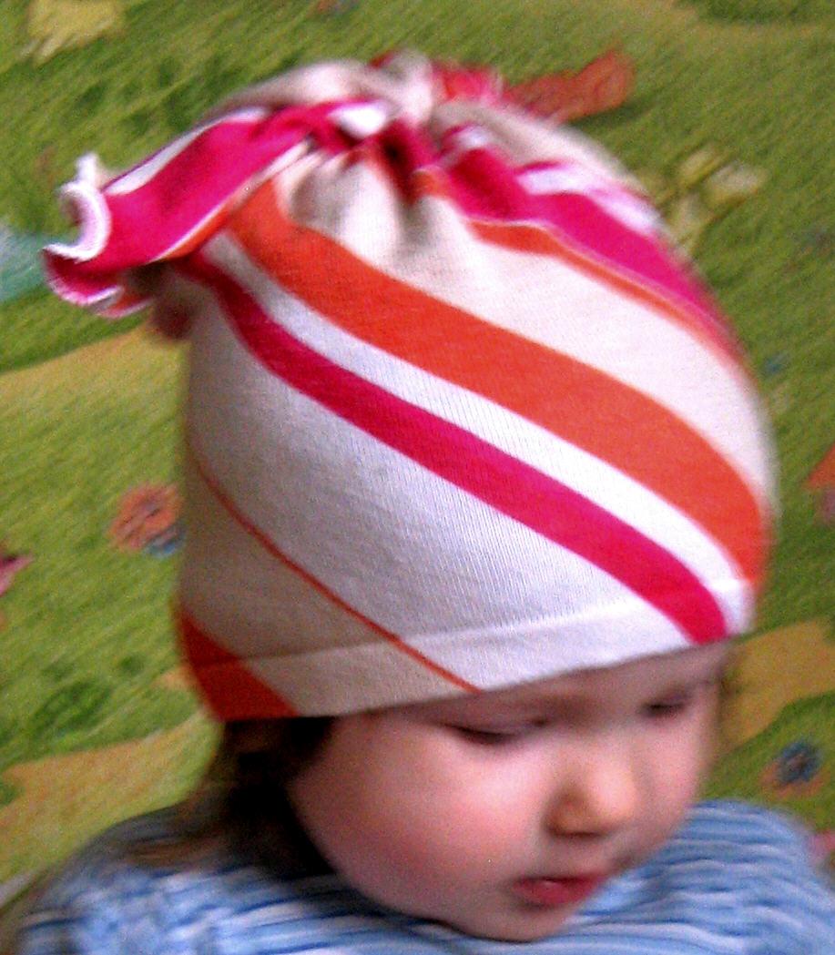 шапочка для девочки сшить