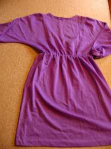 перешивать старые вещи блузка-трансформер из платья